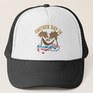 Another Day in Paradise Trucker Hat