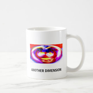 ANOTHER DIMENSION CLASSIC WHITE COFFEE MUG