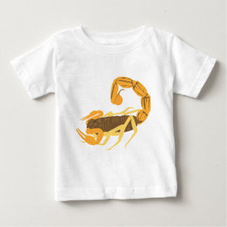 Another Gold and Brown Scorpion Baby T-Shirt