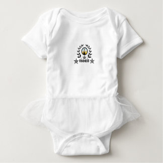 another round for kindness baby bodysuit