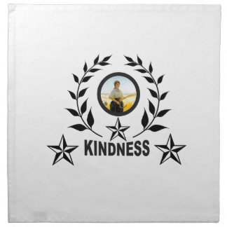 another round for kindness napkin
