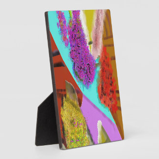 Another Springtime Abstract Design Display Plaques