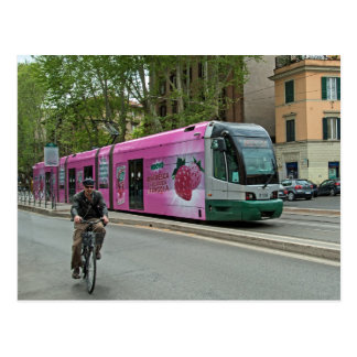 Another tram in Rome Postcard