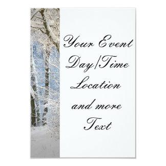 "another winter wonderland 3.5"" x 5"" invitation card"