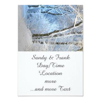another winter wonderland custom invitation