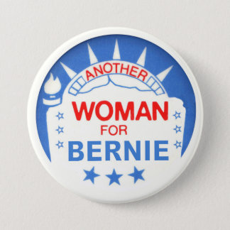 Another Woman for Bernie 7.5 Cm Round Badge