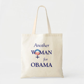 Another Woman for Obama 2012 Tote Tote Bags