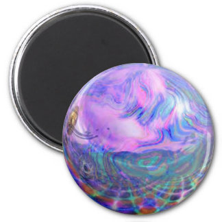 Another World 6 Cm Round Magnet