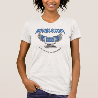 "AnsibleWorks ""Flying Computer"" Women's T-Shirt"