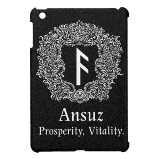 Ansuz-rune / Prosperity, Vitality iPad Mini Cases