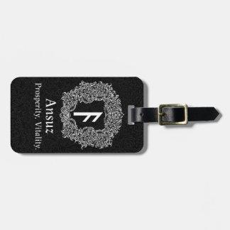 Ansuz-rune / Prosperity, Vitality Luggage Tag