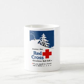 Answer The Red Cross Christmas Roll Call Mug