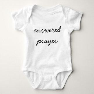 Answered Prayer Baby Bodysuit