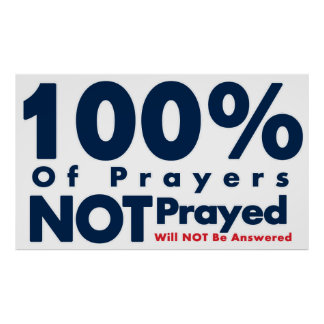 Answered Prayer Poster