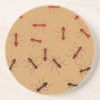 Ant antics. coaster