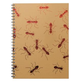 Ant antics. notebook