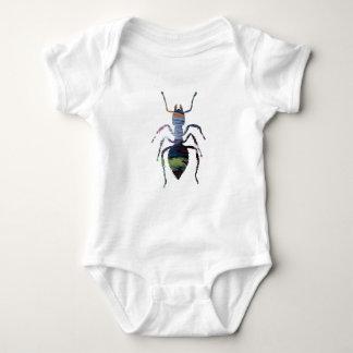 Ant art baby bodysuit