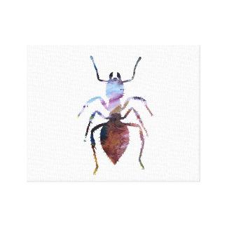 Ant art canvas print