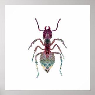Ant Art Poster