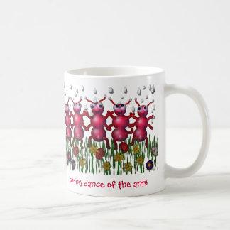 ant dance coffee mug