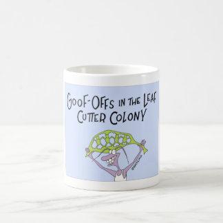 Ant goof off coffee mug
