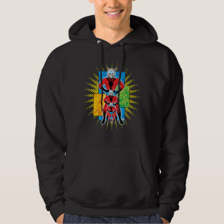 Ant-Man Shrinking Comic Panel Graphic Hoodie