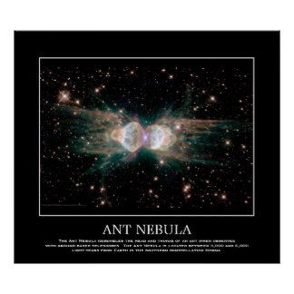 Ant Nebula - In Constellation Norma Poster