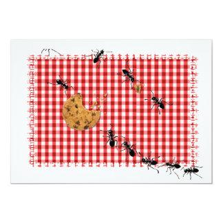 Ant Picnic Invite