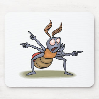 Ant Pointing Mouse Pads