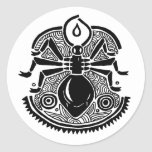 Ant Totem Round Sticker