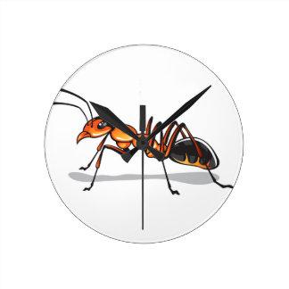 Ant vector wall clock