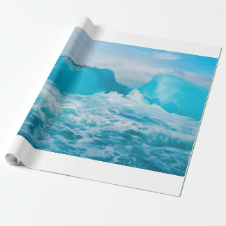 Antarctic Berg Wrapping Paper