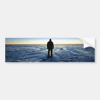 Antarctic Sunset Bumper Sticker
