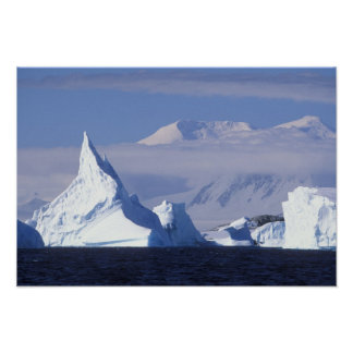 Antarctica, Boothe Island, Afternoon sun Posters