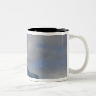 Antarctica, Bransfield Strait, Afternoon sun 2 Two-Tone Mug