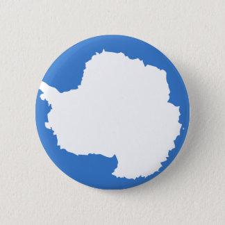 Antarctica Flag 6 Cm Round Badge