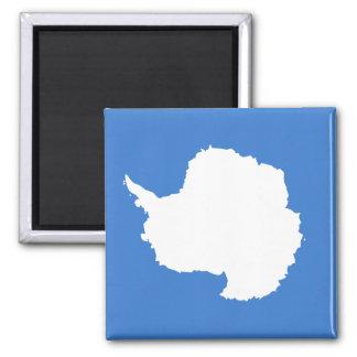 Antarctica High quality Flag Square Magnet