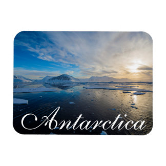 Antarctica. Near Adelaide Island. The Gullet 2 Rectangular Photo Magnet