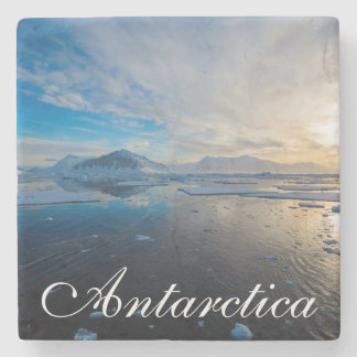 Antarctica. Near Adelaide Island. The Gullet 2 Stone Beverage Coaster