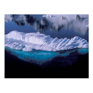 Antarctica, Paradise Bay. Iceberg in crystal Postcard