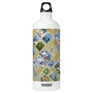Antarctica - Penguin Postage Stamps SIGG Traveller 1.0L Water Bottle