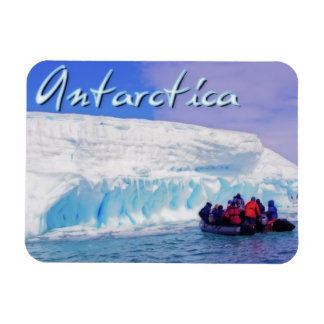 Antarctica Rectangular Photo Magnet