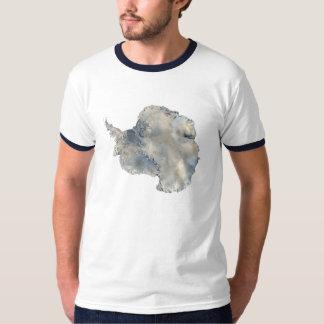 Antarctica satellite photo-science travel image T-Shirt