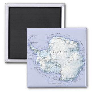Antarctica Square Magnet