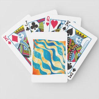 Antaressia - blue sun bicycle playing cards
