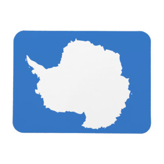 Antartican Flag Rectangular Photo Magnet