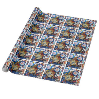 Ante Up Wrapping Paper