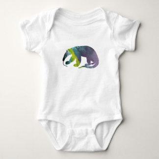 Anteater art baby bodysuit