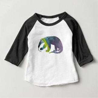 Anteater art baby T-Shirt