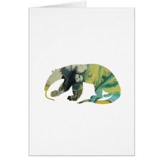 Anteater art card